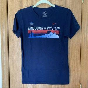 Women's Nike USA Olympic T-Shirt SZ M (8-10) 2010